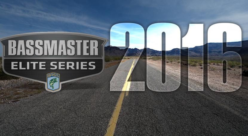 【詳細有り】2016年バスマスター・エリートシリーズ・スケジュール!B.A.S.S. Bassmaster Elite 2016