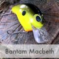 臆せず打て!バンタム「マクベス」はキャスト精度・泳ぎ・回避能力に優れたクランクベイト!シマノ