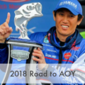 2018 Road to AOY!バスマスターエリート日本人選手の年間順位  Toyota Angler of the Year Standings
