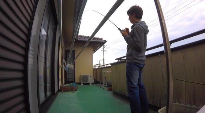 フッキング実験